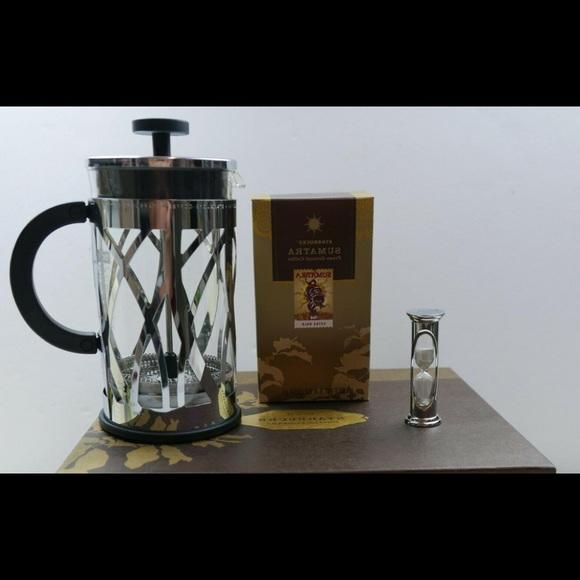 8 cup Bodum Starbucks French Press Eileen Pattern